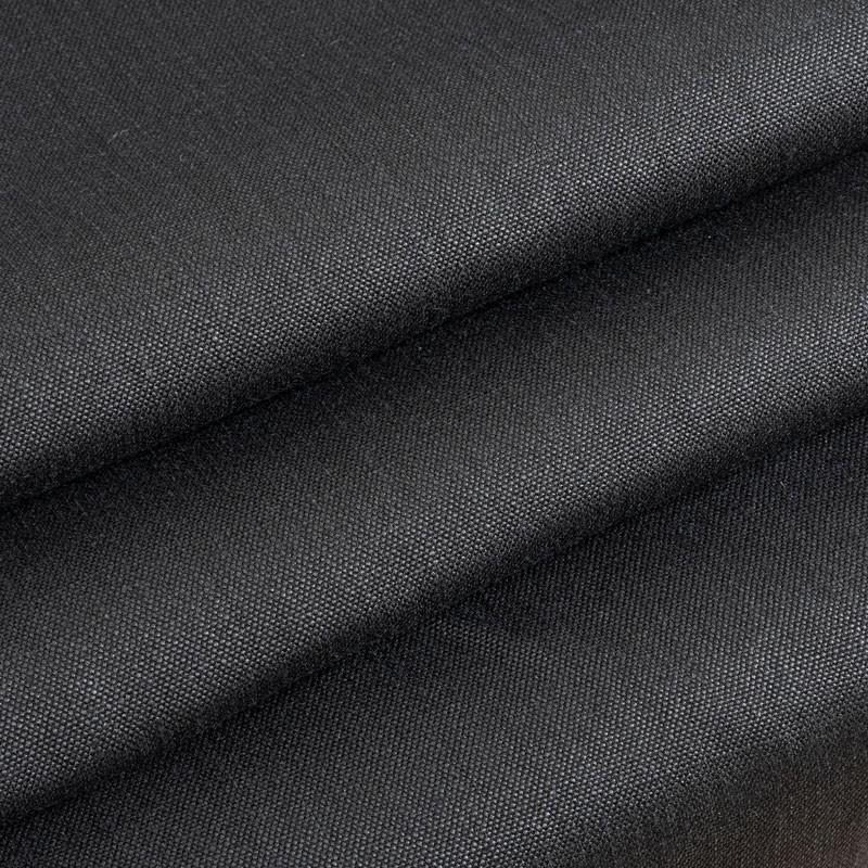 Tissu-chanvre-noir