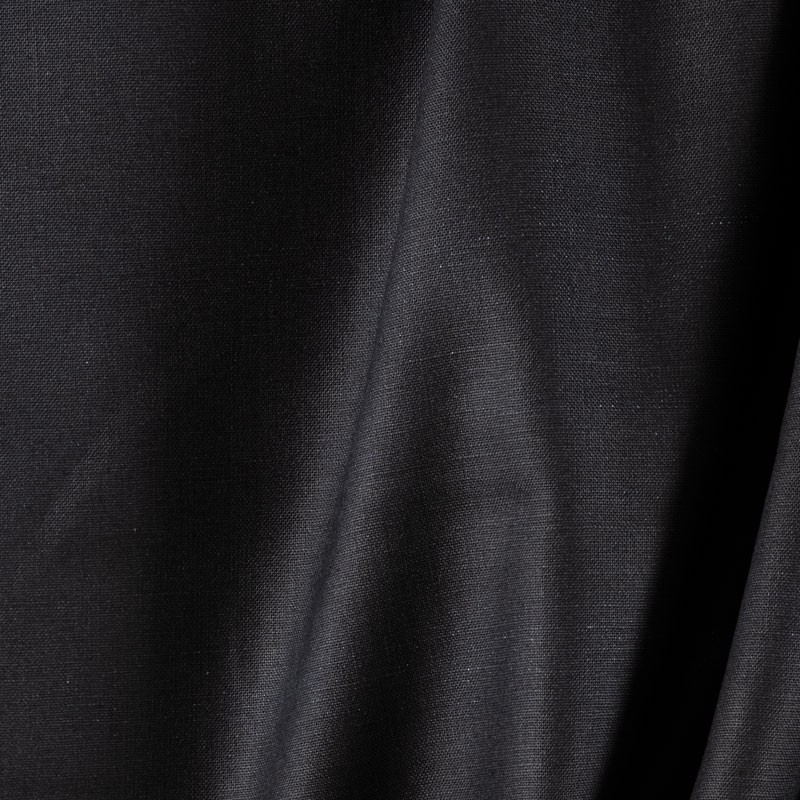 Tissu-lin-noir