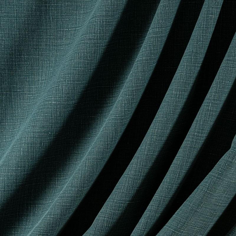 Tissu-lin-aspect-stonewash-pétrole