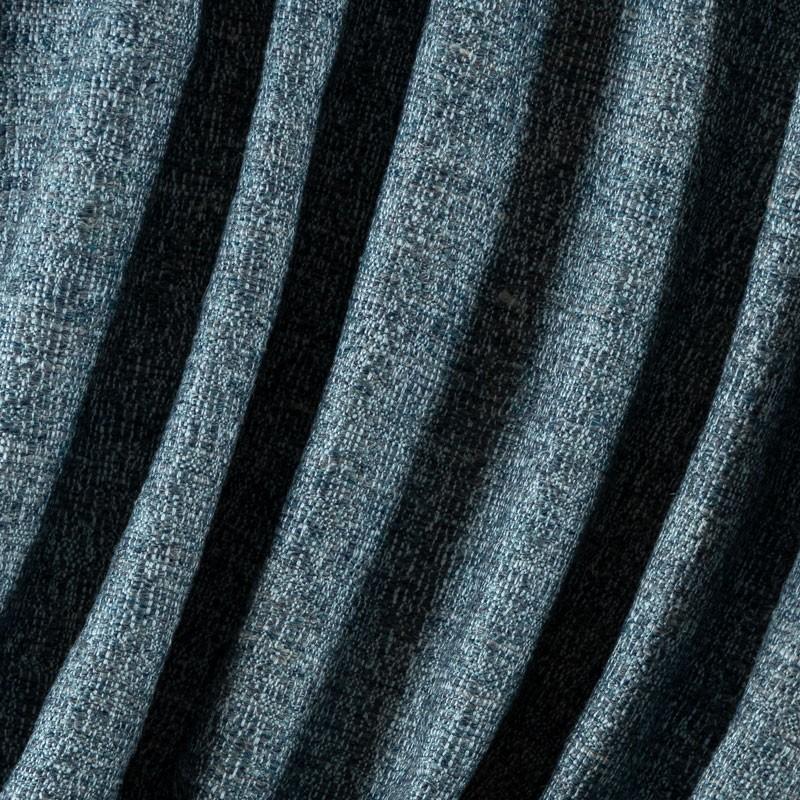 Tissu-d'exception-lin-et-laine-bleu-chiné