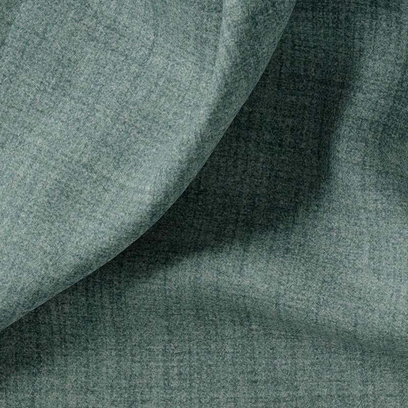 Tissu-polyester-aspect-laine-chiné-bleu-gris