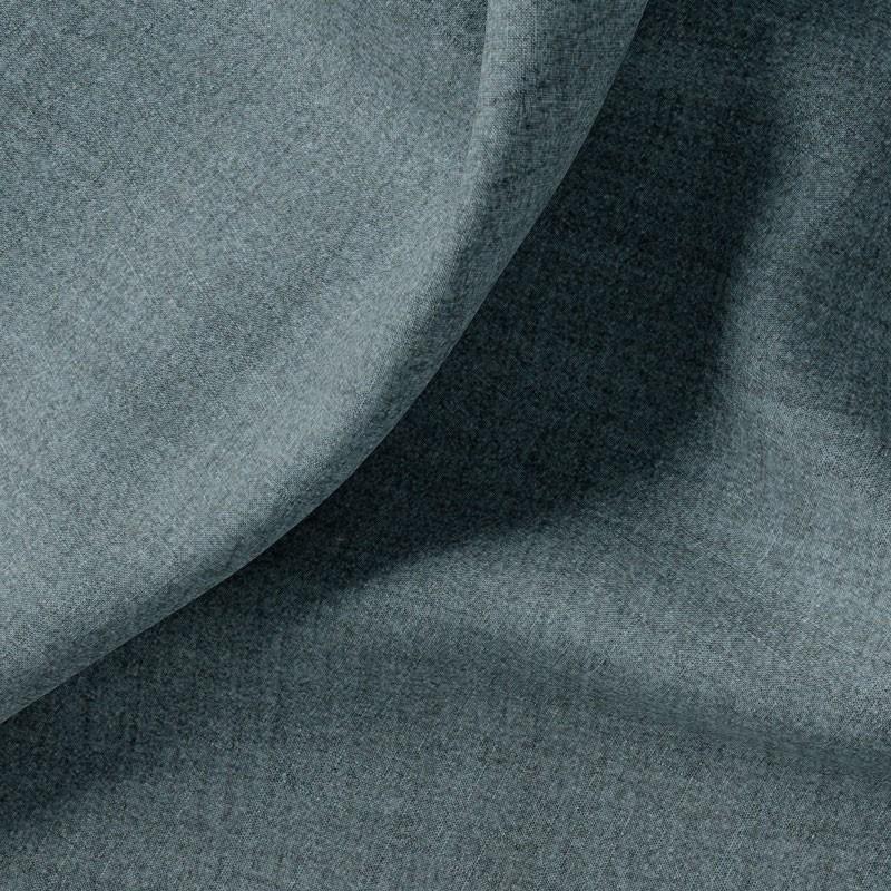 Tissu-polyester-aspect-laine-chiné-bleu-foncé