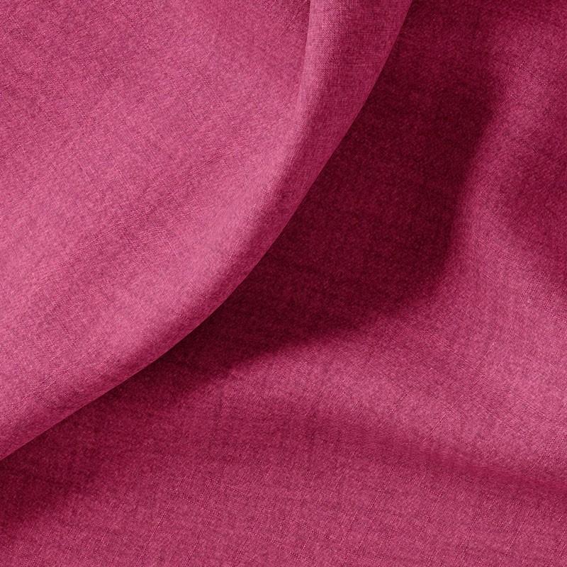 Tissu-polyester-aspect-laine-chiné-fuchsia