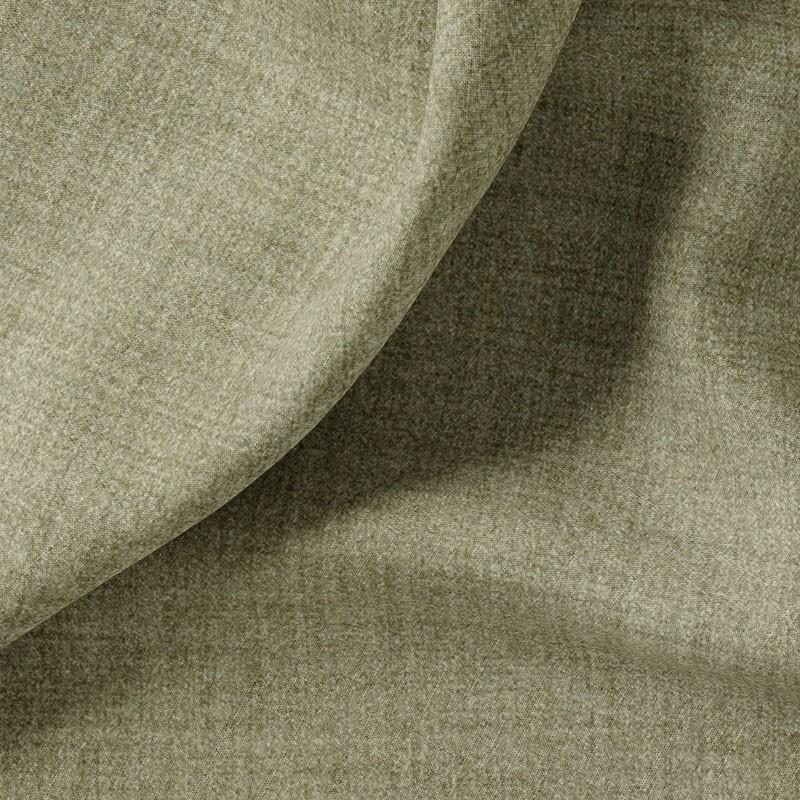 Tissu-polyester-aspect-laine-chiné-kaki