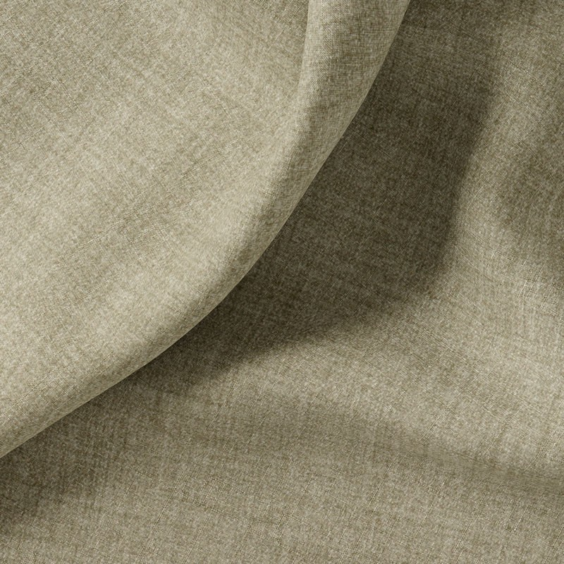 Tissu-polyester-aspect-laine-chiné-taupe