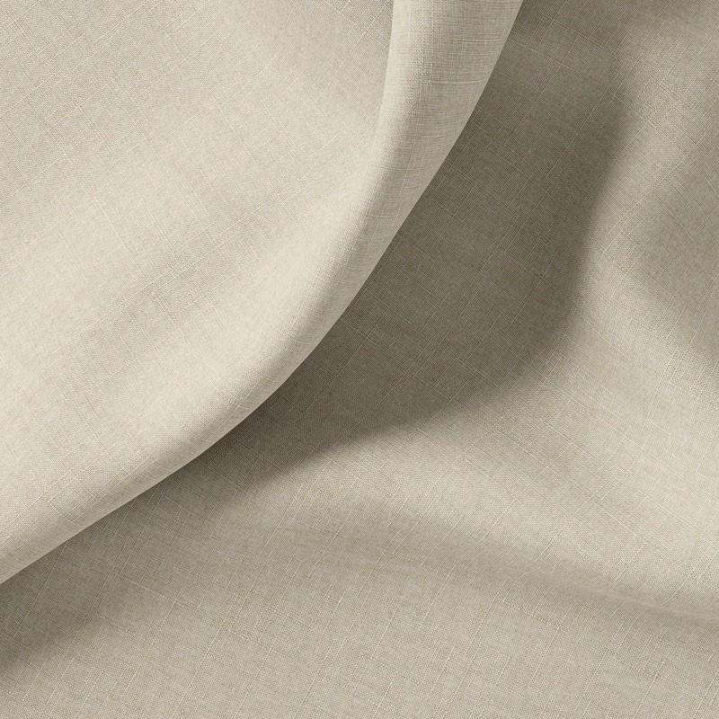 Tissu-polyester-aspect-laine-chiné-blanc-cassé