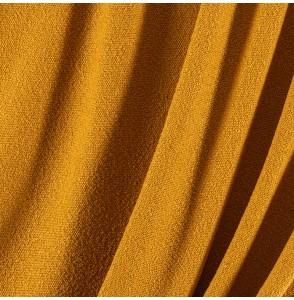 Tissu-Brasilia-bouclette-moutarde