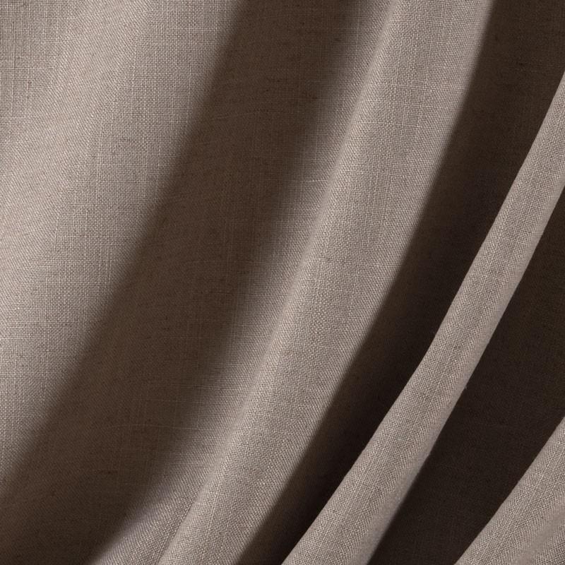 Tissu-Odéon-taupe-aspect-lin