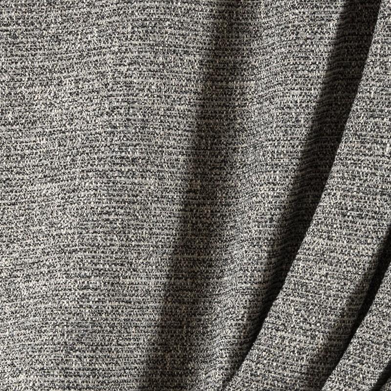 Tissu-bouclette-gris-chiné