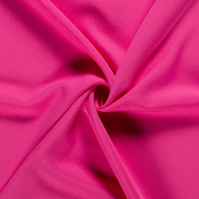 Tissu-polyester-uni-rose