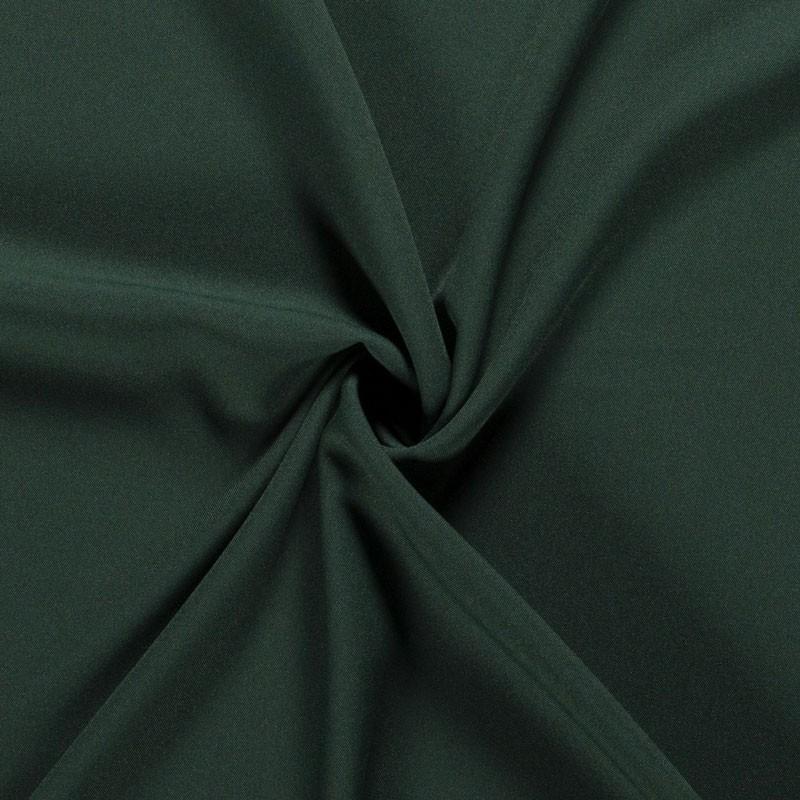 Tissu-polyester-uni-vert-foncé