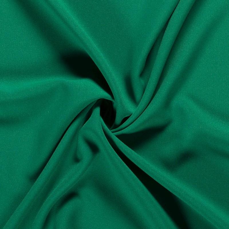 Tissu-polyester-uni-vert-moyen
