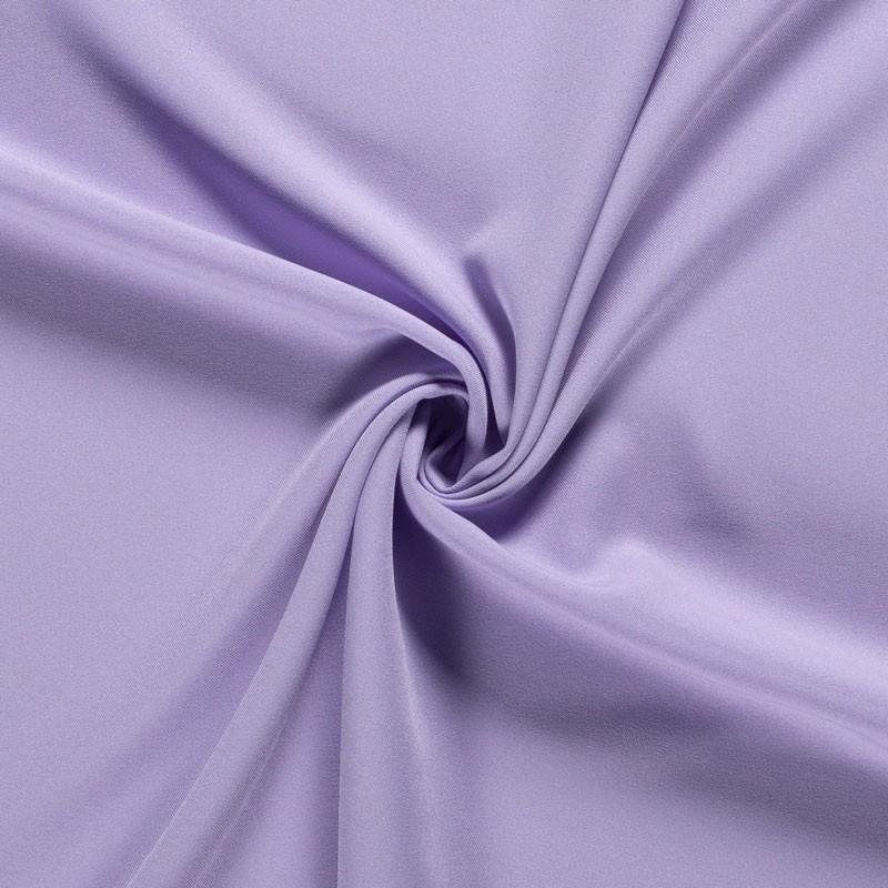 Tissu-polyester-uni-lavande