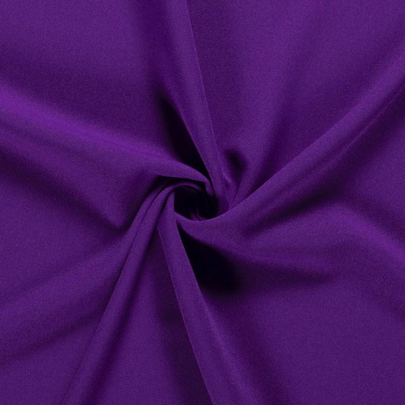 Tissu-polyester-uni-mauve