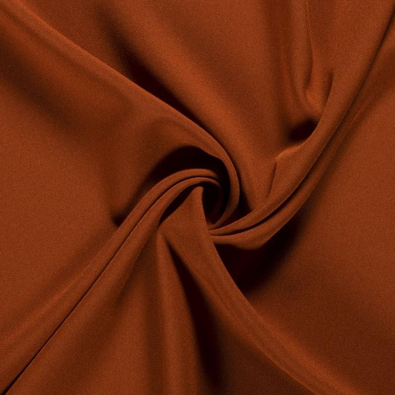 Tissu-polyester-uni-brique