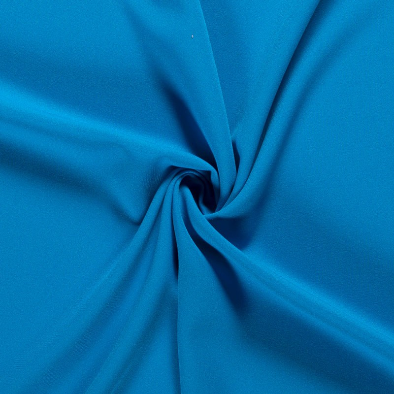 Tissu-polyester-uni-bleu-clair