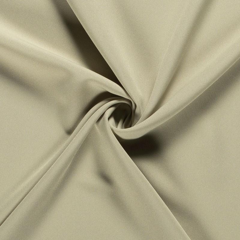 Tissu-polyester-uni-grège