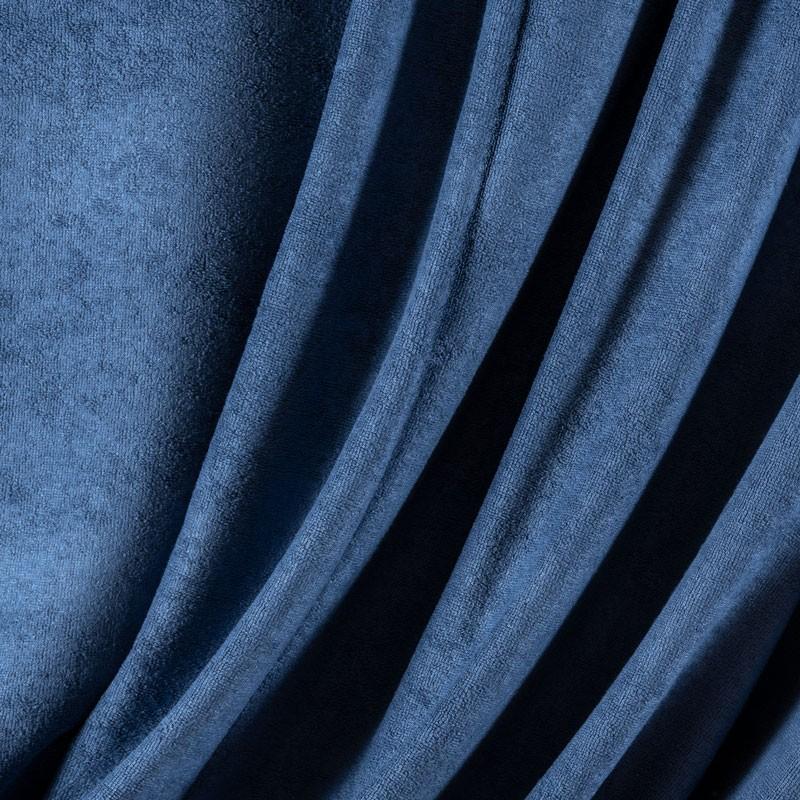 Tissu-éponge-bamboo-bleu-indigo