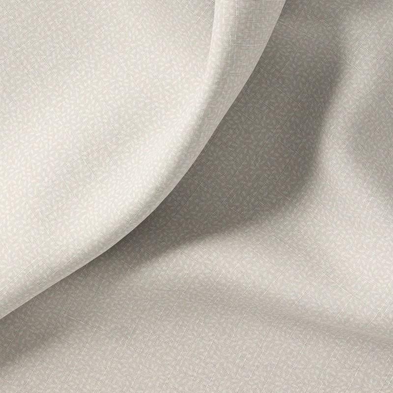 Tissu-280cm-coton-blanc-Grain-de-riz