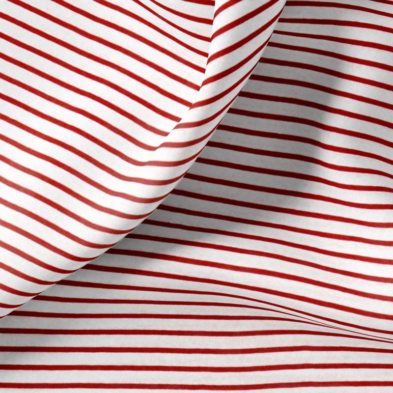 Tissu-jersey-ligne-tissé-rouge