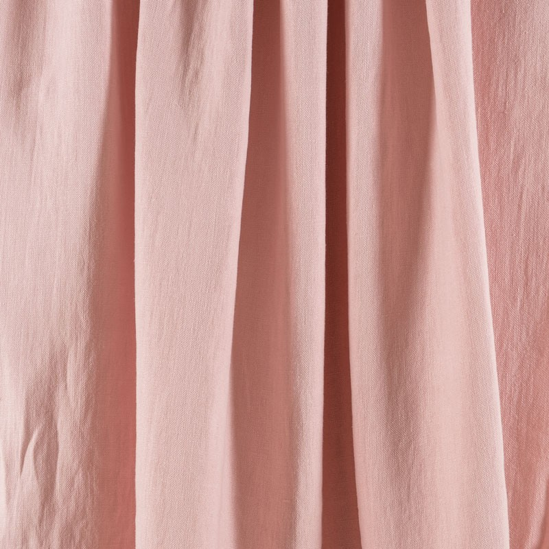 Tissu-lin-rose