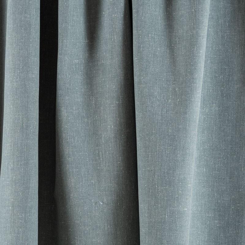 Tissu-chiné-aspect-lin-vert-de-gris