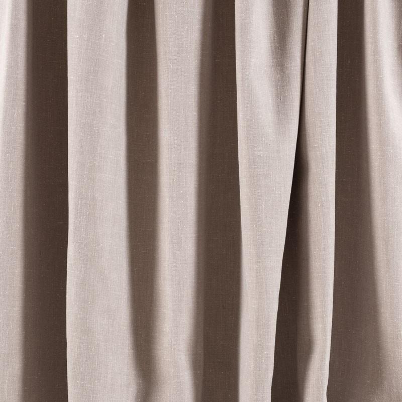 Tissu-chiné-aspect-lin-taupe-clair