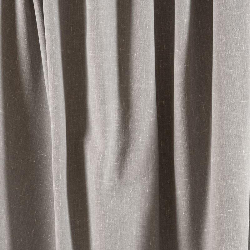 Tissu-chiné-aspect-lin-gris