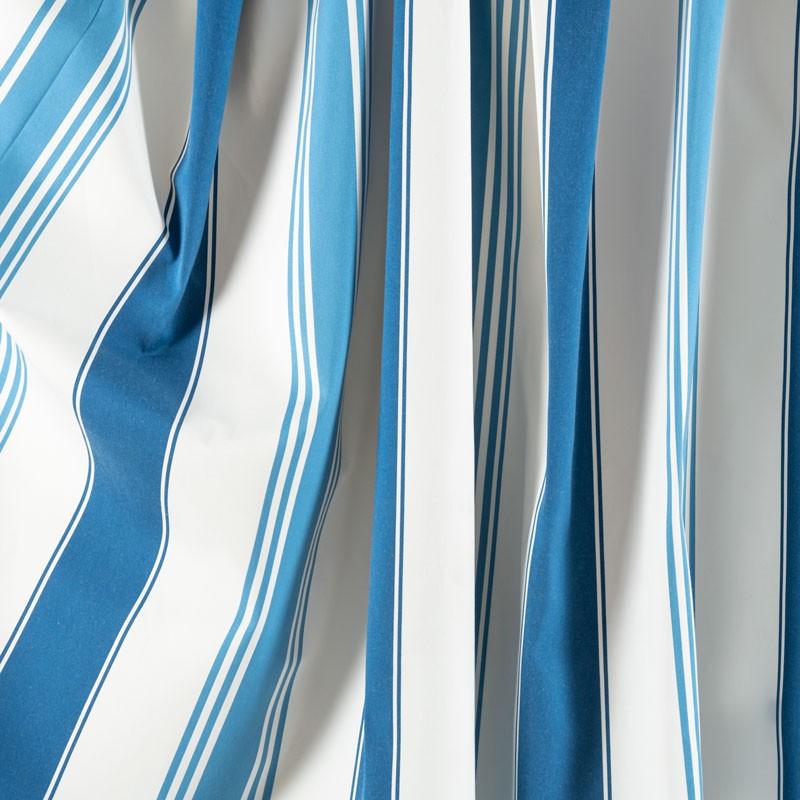 Tissu-300cm-outdoor-rayé-bleu