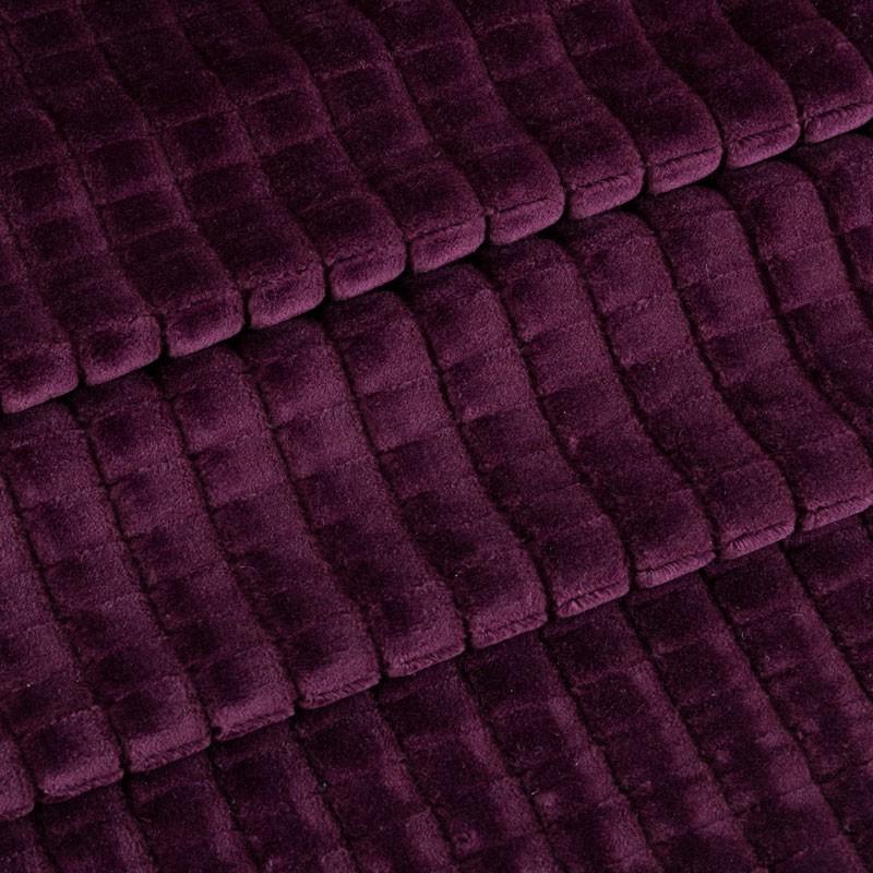Tissu-velours-carreaux-aubergine
